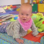 Esther at Baby Sensory