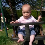 Esther's First Swing