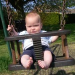 William's First Swing