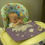 Messy Play with Fromage Frais