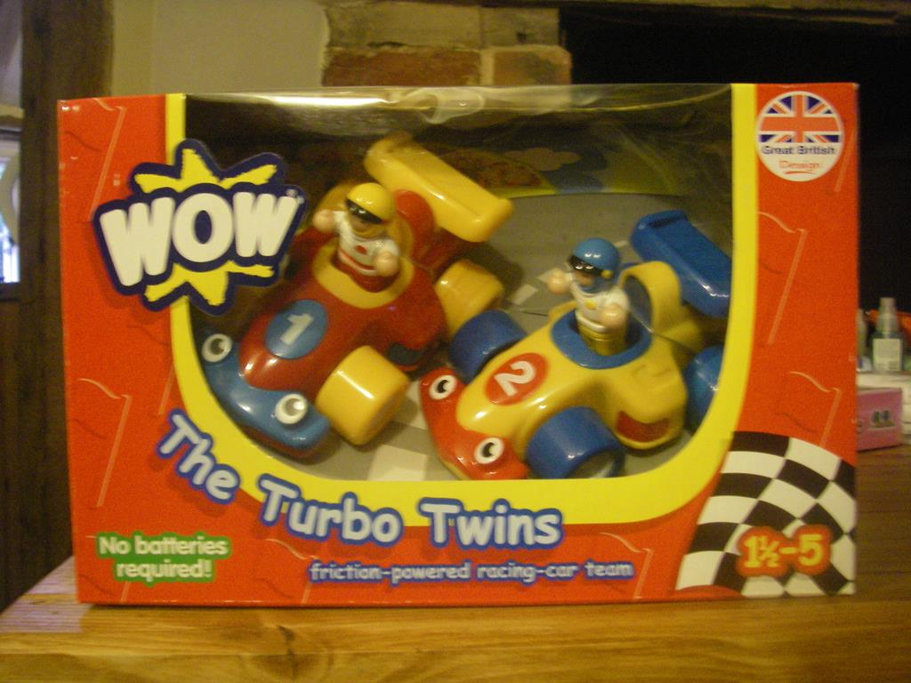 Toys For Twins : Edspire festive forecast wow toys turbo twins