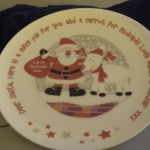 Special Plate for Santa