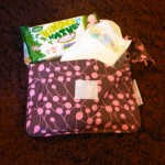 Nappy Purse with mini change mat from Ruby and Ginger