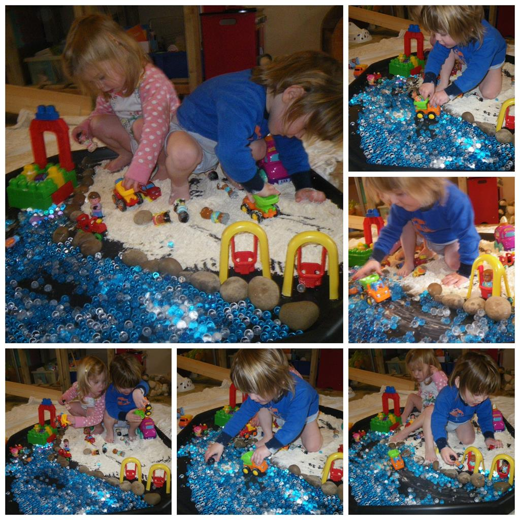 Messy Playroom: Messy Play For Matilda Mae: Seaside And Snow