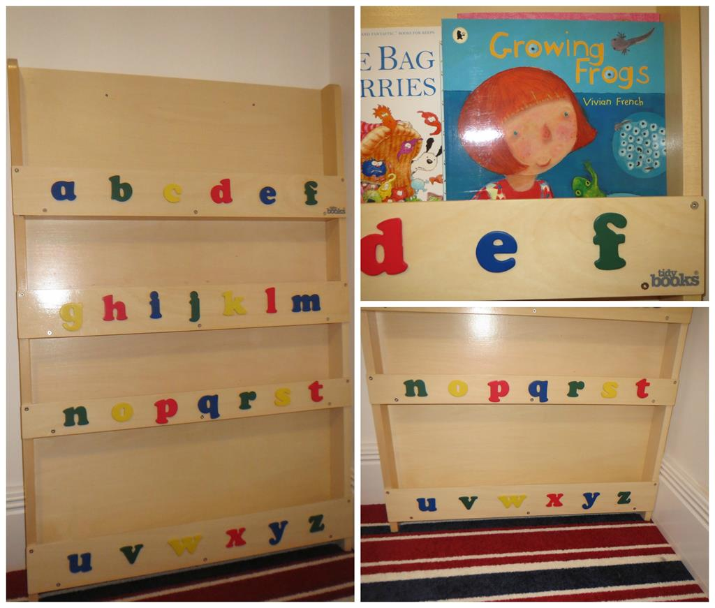 Trend The Tidy Books Children us Bookcase is easy to put together and sturdy once built It can be attached to the wall or other hard surface such as a cabin bed