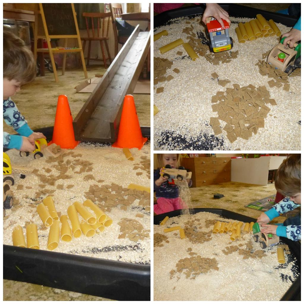 Messy Playroom: Messy Play For Matilda Mae: Instruction (Construction