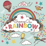 growing rainbow