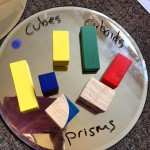 Maths vocabulary exploring 3d shapes through sensory play Who needs school