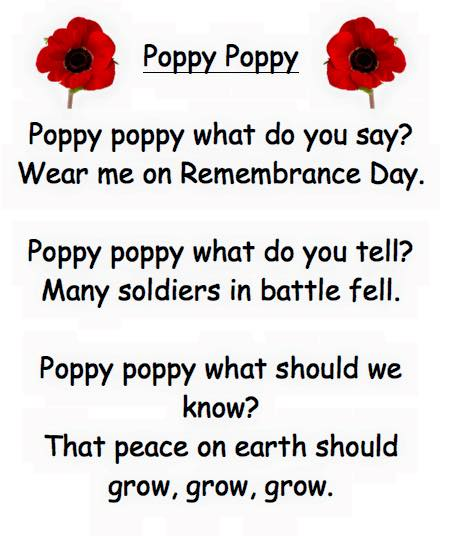 A primary school service of remembrance edspire poppy poem mightylinksfo
