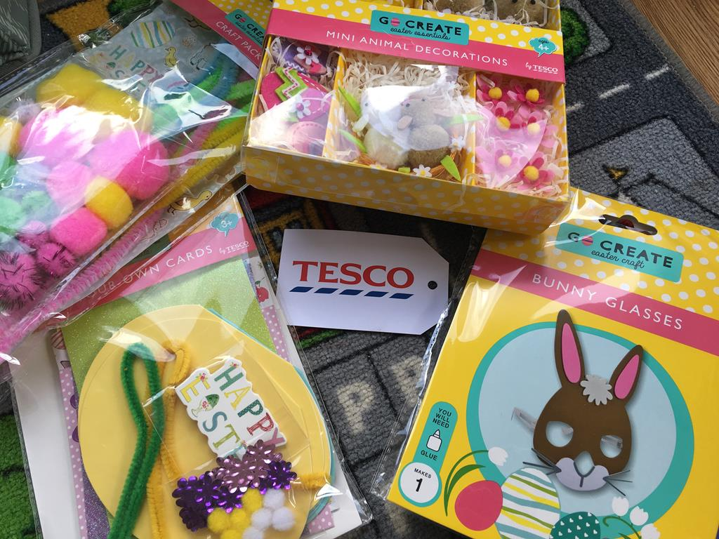 Early easter preparations with tesco edspire easter treats from tesco gumiabroncs Choice Image