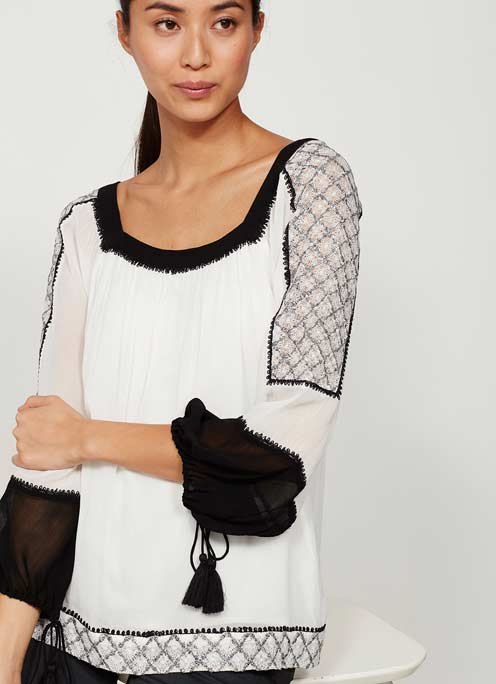 mv embroidered blouse