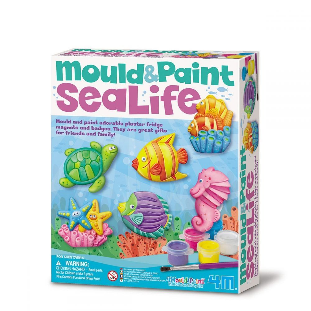 sea mould and paint