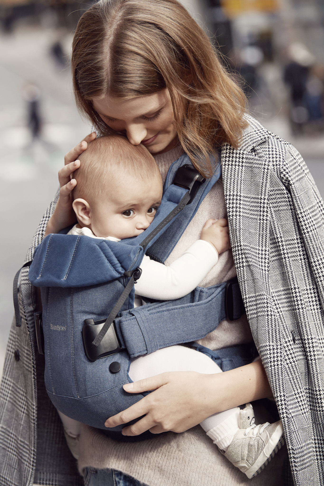 Baby Carrier One (2018) - Classic DenimMidnight Blue, Cotton Mix (2)