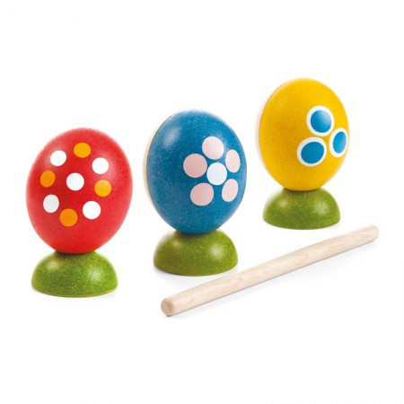 easter plan percussion eggs