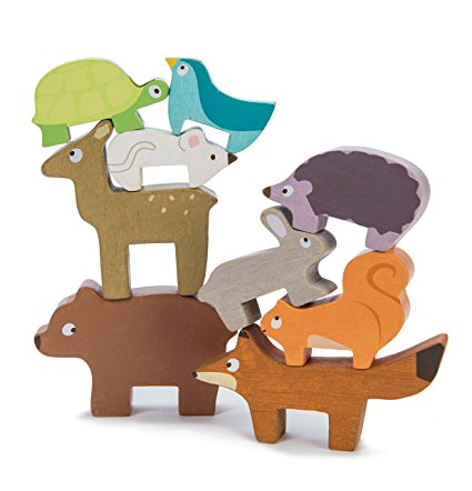 1 woodland animals stacker