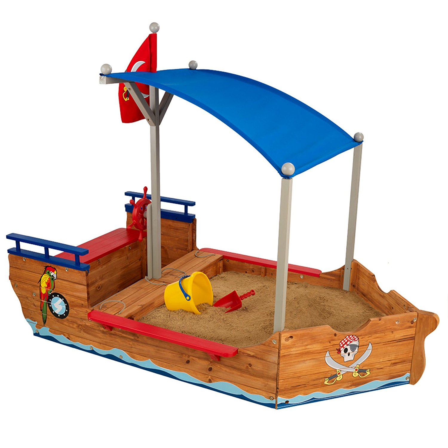 sand kidcraft pirate boat