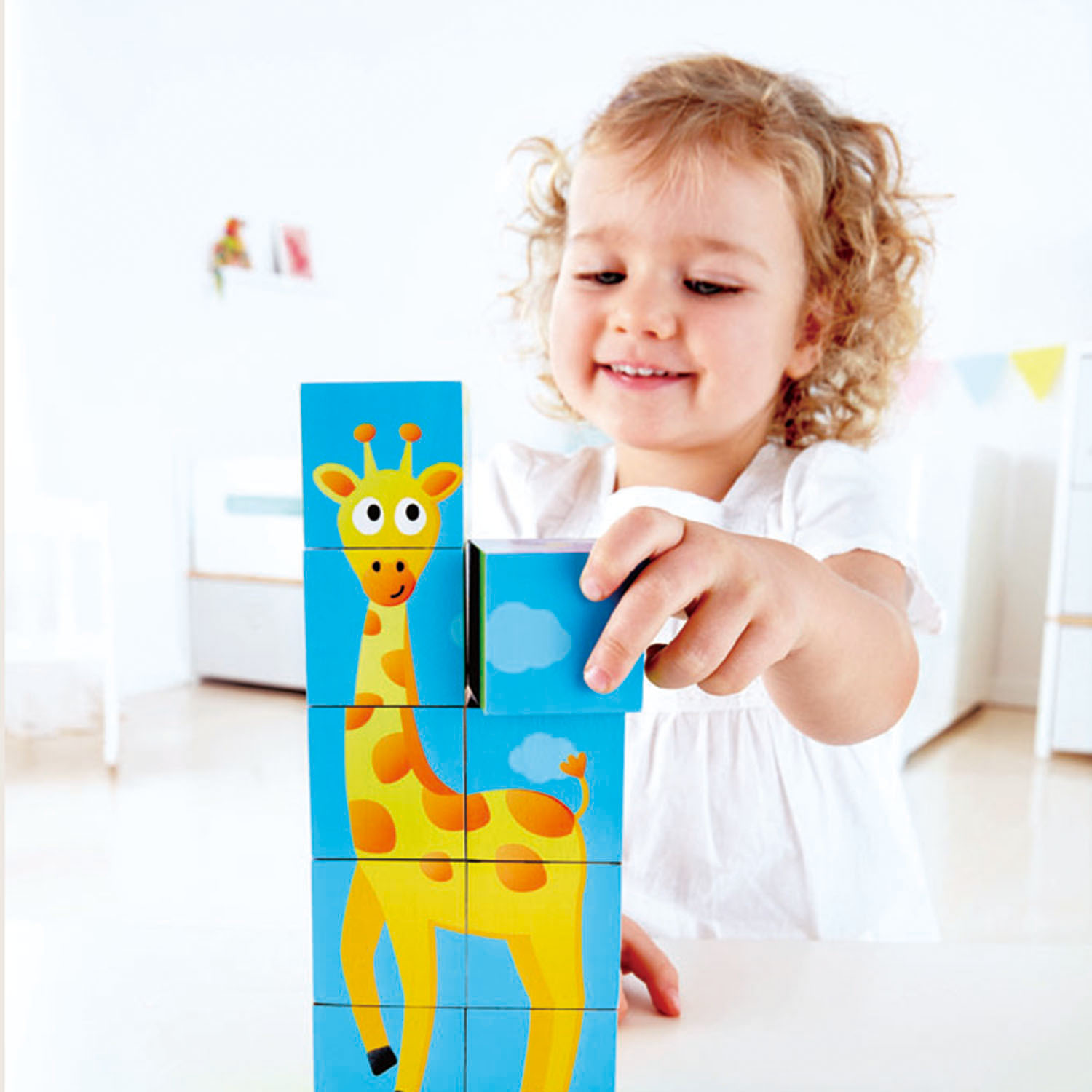hape jungle block puzzle