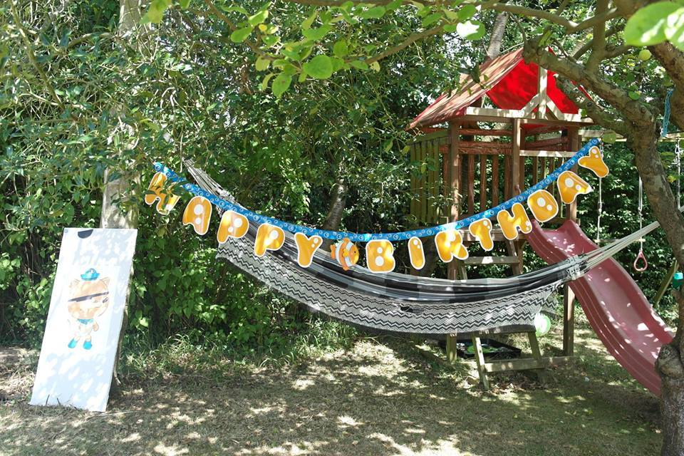 A hammock for chilling out in the shade