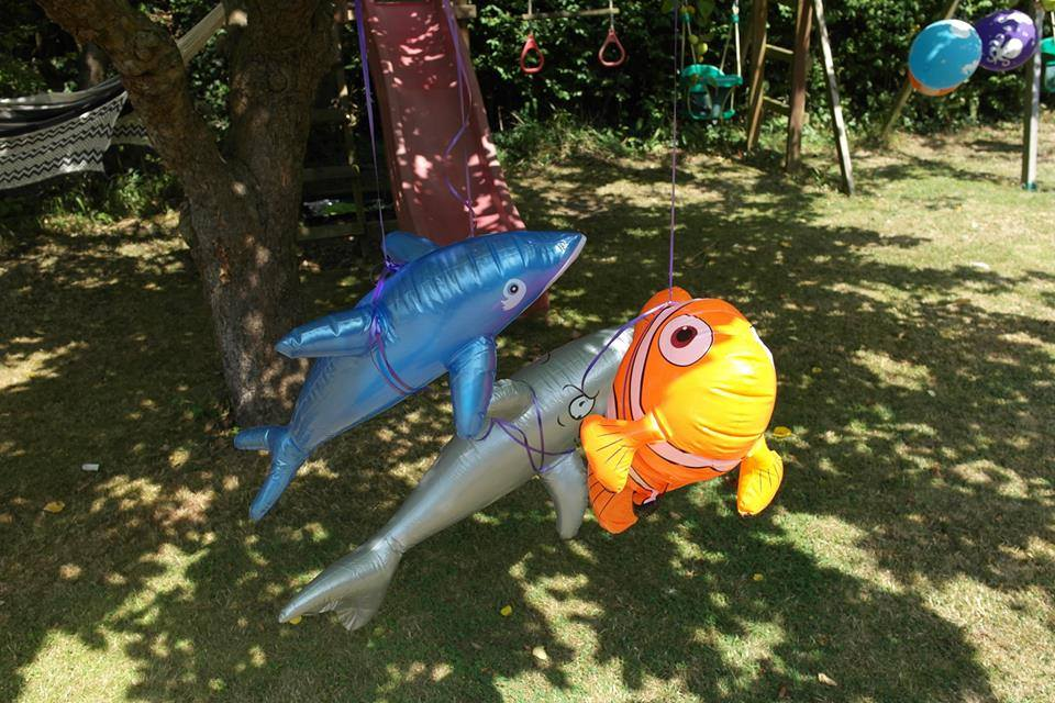 Inflatable fish