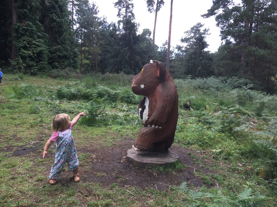 Edie Finds The Gruffalo's Child