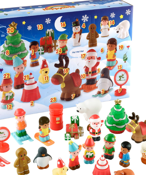 elc happyland advent calendar