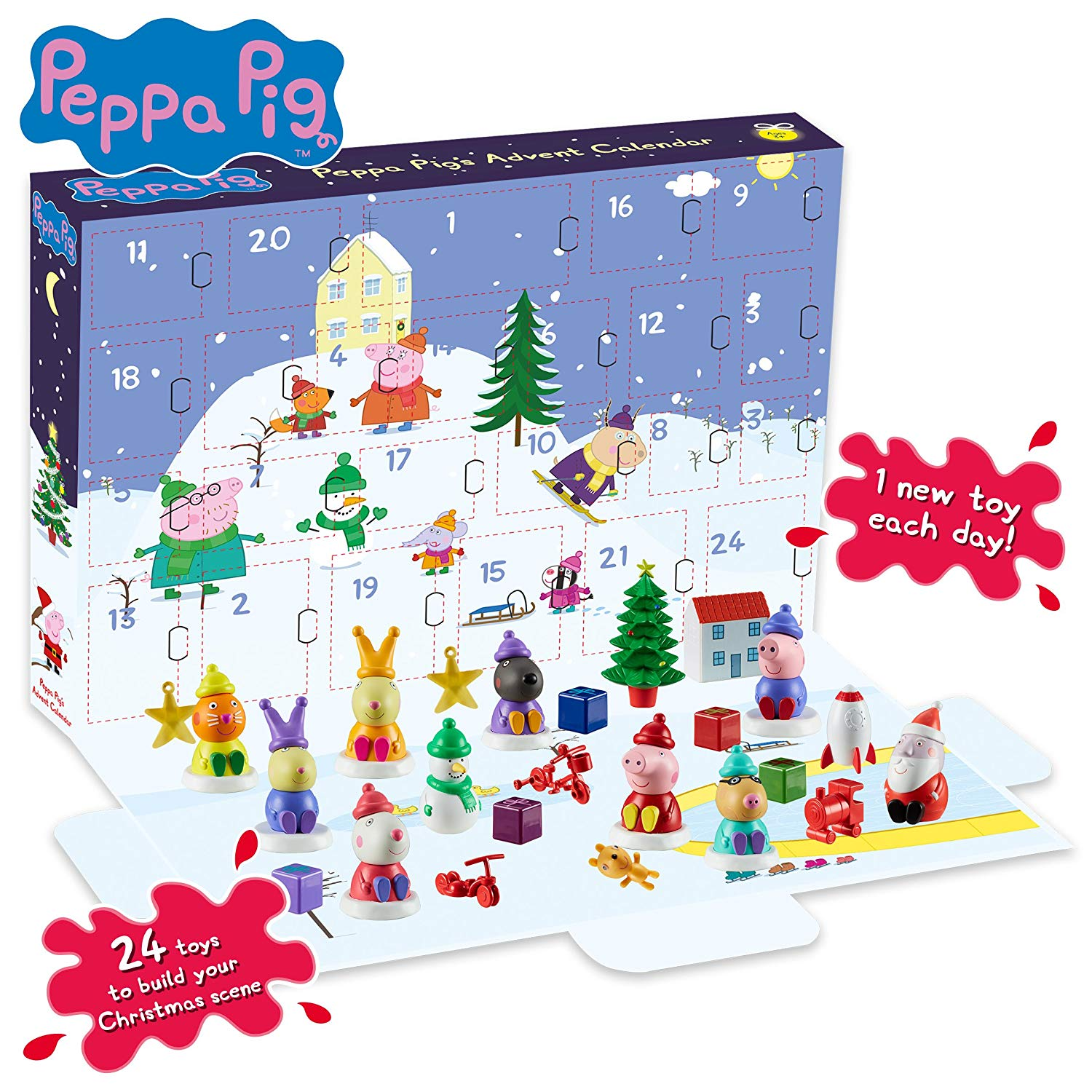 peppa pig advent