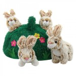 babbit hill puppet set