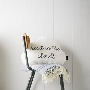 cloud head in the clouds cushion