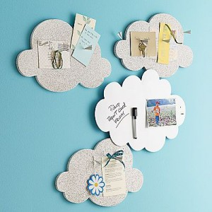 cloud magnetic memo boards