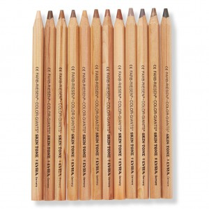 stocking skin tone pencils