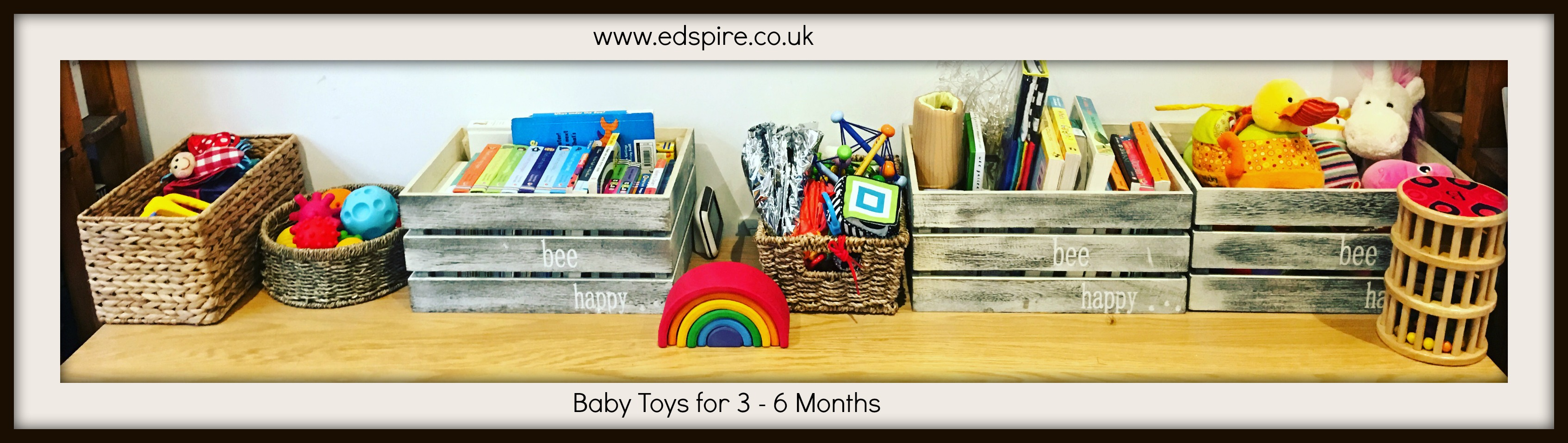 Best Baby Toys 3 – 6 Months Old